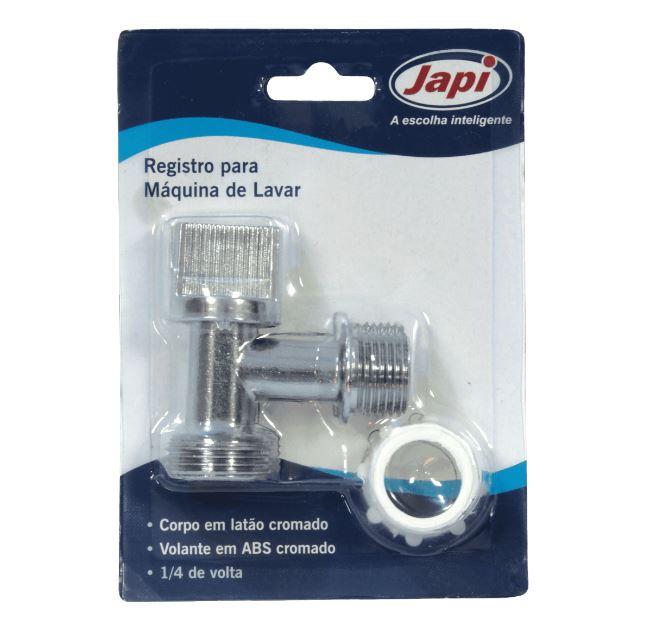 Registro Esférico Japi para Máquina de Lavar VMLB  - Casa Mattos
