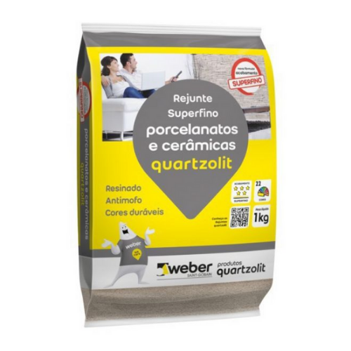 Rejunte Quartzolit Porcelanato PMG 1Kg