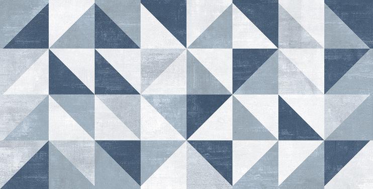 Revestimento Biancogres Vêneto Blu 45x90cm Acetinado Retificado