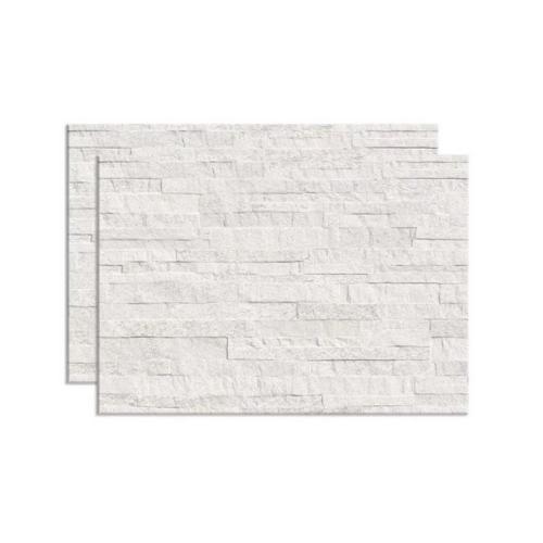 Revestimento Filetado 43,7Cm x 63,1Cm - Branco Caixas Com 1,65 m²