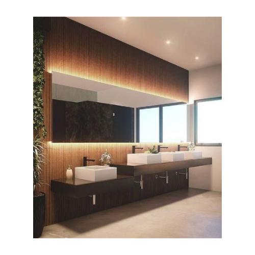 Revestimento Frisado Liso 28,8Cm x 119Cm Caixas com 1,03 m².  - Casa Mattos