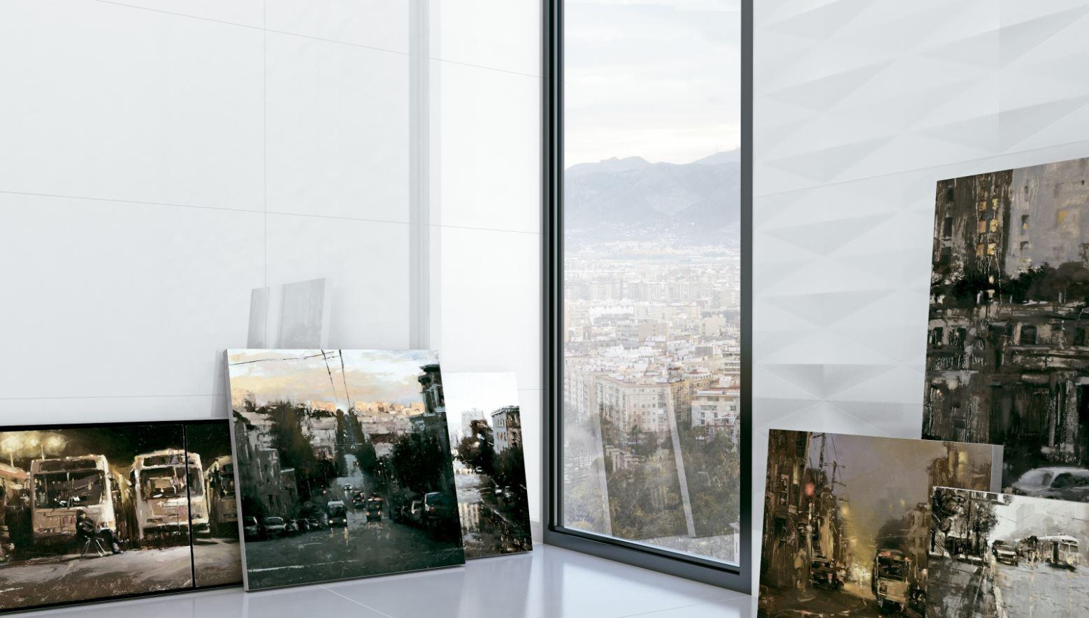 Revestimento Incepa Glacial Snow 33x60cm Brilho  - Casa Mattos