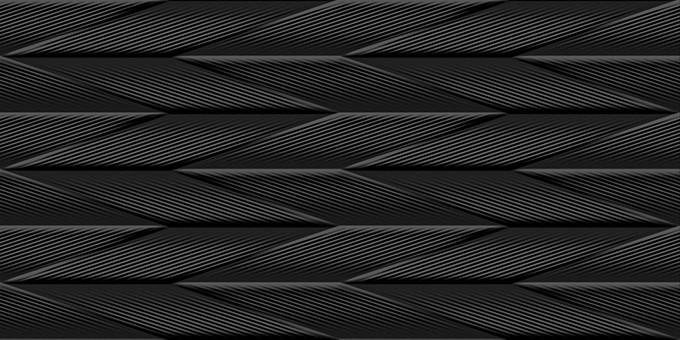 Revestimento Itagres Colibri Black 45X90cm Acetinado