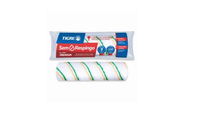 Rolo de Lã Sintética Tigre 61374230 Antirrespingo de 23cm