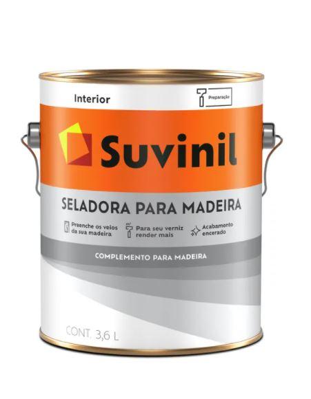 Seladora para Madeira Suvinil Galão 3,6L