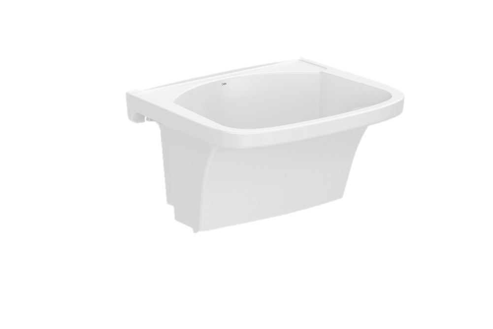Tanque Celite G 59x52 cm Branco