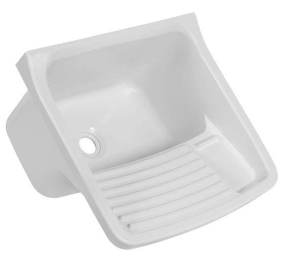 Tanque Plástico Para Lavar Roupas 47x43x27Cm 22L