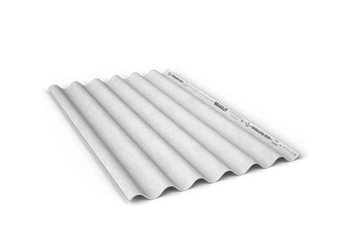 Telha de fibrocimento Brasilit 2,44x1,10mx5mm