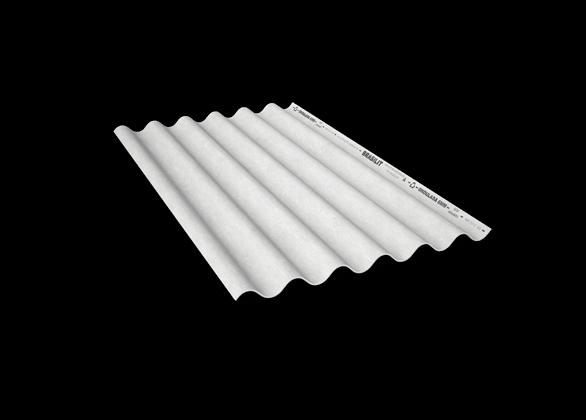 Telha de Fibrocimento Brasilit 2,44x1,10mx6mm