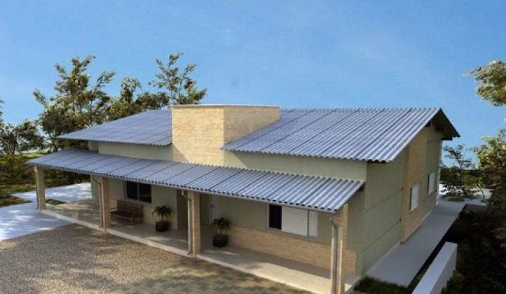 Telha de Fibrocimento Brasilit 3,05x1,10mx6mm  - Casa Mattos