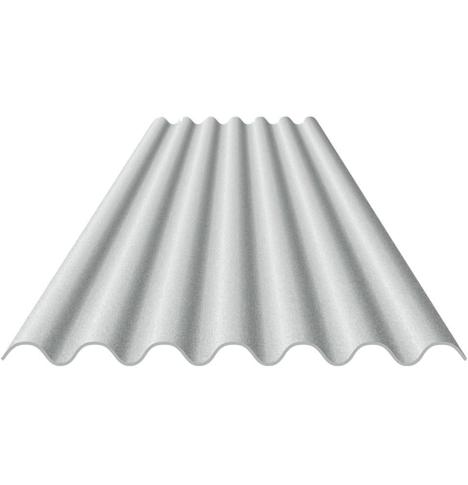Telha de Fibrocimento Eternit Vogatex 2,44x0,50mx4mm