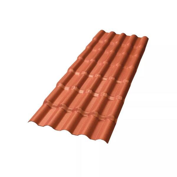 Telha de PVC Afort Colonial Terracota 3,28X0,86m