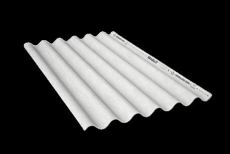 Telha fibrocimento brasilit 1,83m x 1,10m  com 5mm de espessura