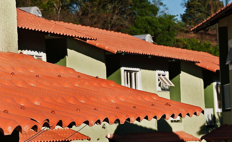 Telha Precon PVC Colonial  2,30x0,86 Cerâmica  - Casa Mattos