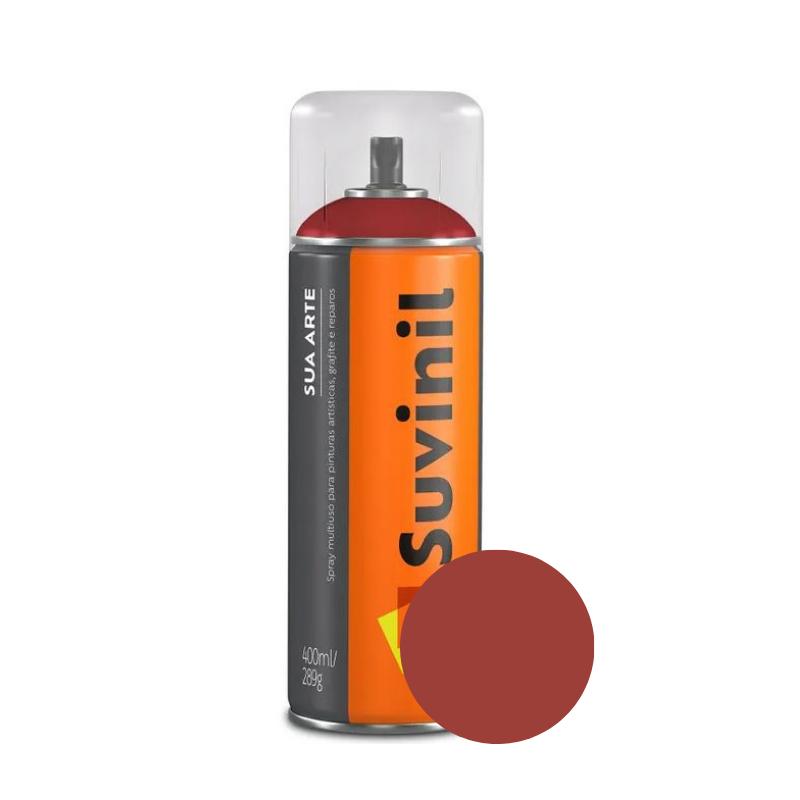 Spray Suvinil Sua Arte Brilhante Vermelho 400ml