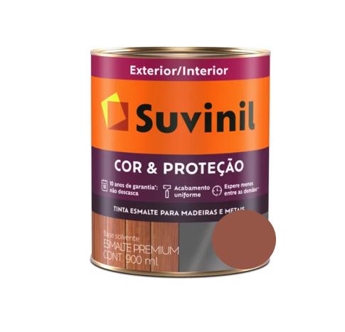 Tinta Esmalte Suvinil Cor e Proteção Brilhante Cerâmica Litro 900ml