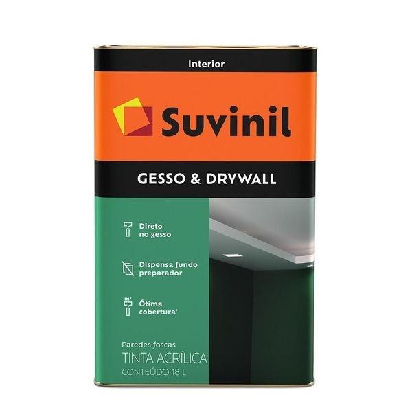 Tinta para Gesso e Drywall 18L - Branco