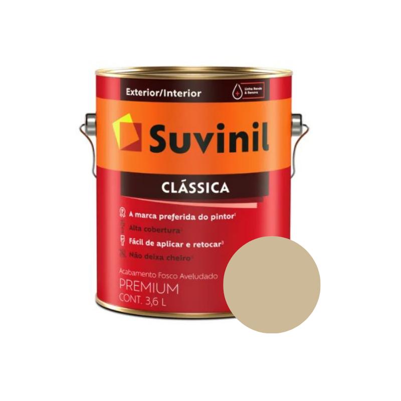 Tinta Suvinil Clássica Camurça Galão 3,6L