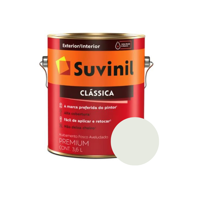 Tinta Suvinil Clássica Gelo Galão 3,6L