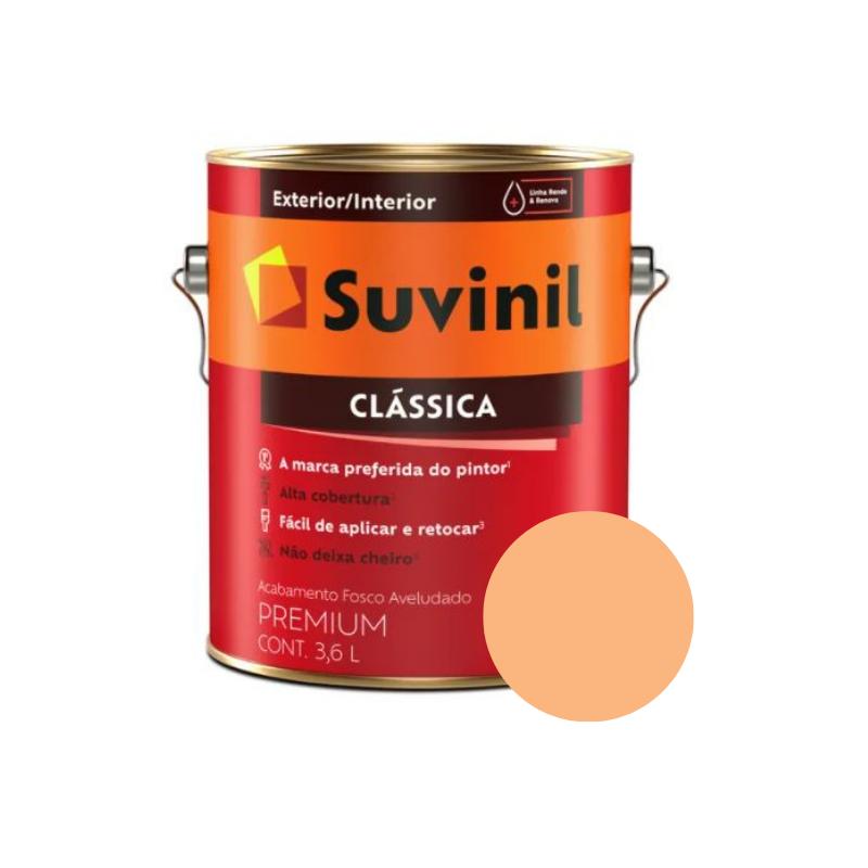 Tinta Suvinil Clássica Lírio Galão 3,6L