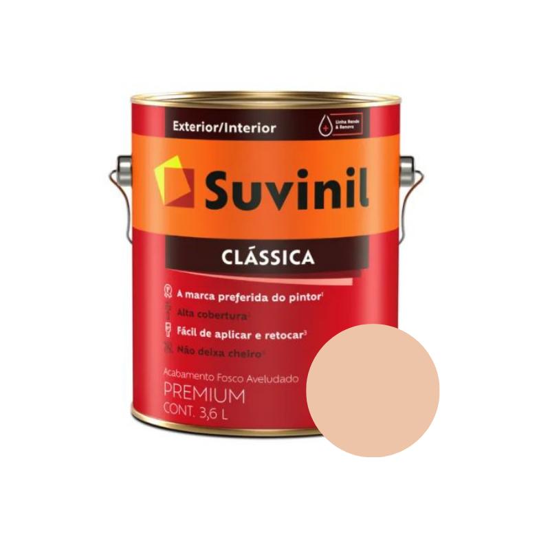 Tinta Suvinil Clássica Pêssego Galão 3,6L