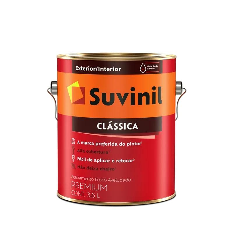 Tinta Suvinil Clássica Premium Fosca 3,6L