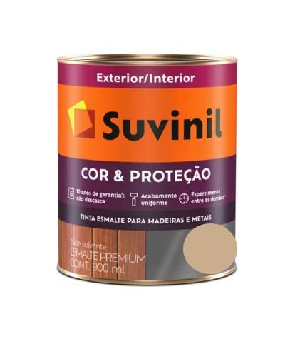 Tinta Suvinil Cor & Proteção Brilhante Camurça Claro Litro 900ml