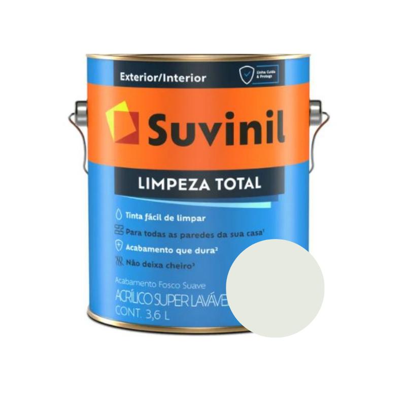 Tinta Suvinil Limpeza Total Gelo Galão 3,6L