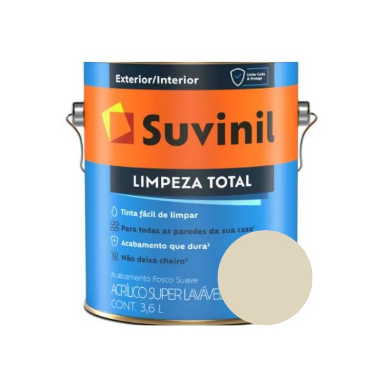 Tinta Suvinil Limpeza Total Palha Galão 3,6L  - Casa Mattos