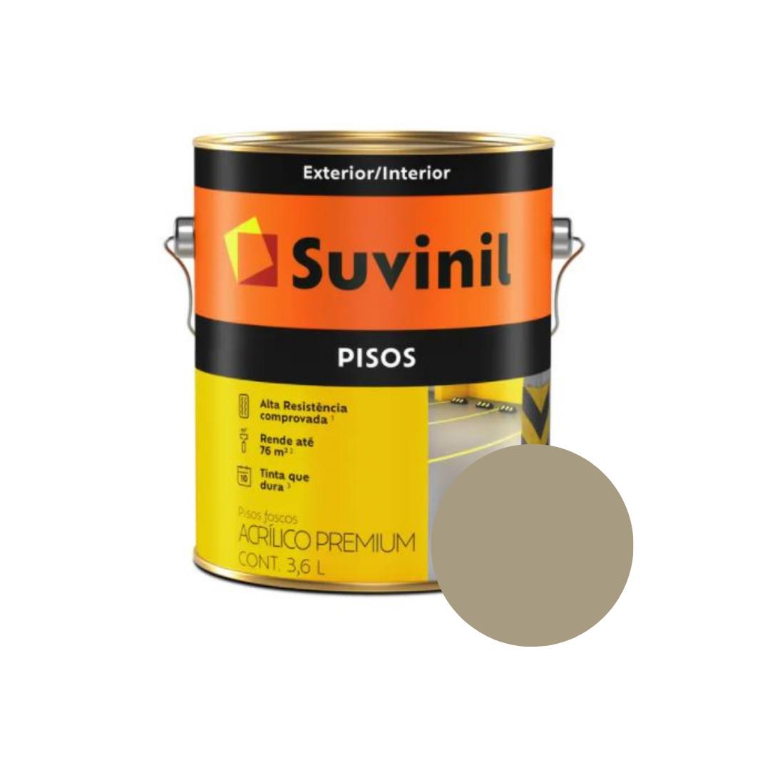 Tinta Suvinil Pisos Concreto Galão 3,6L