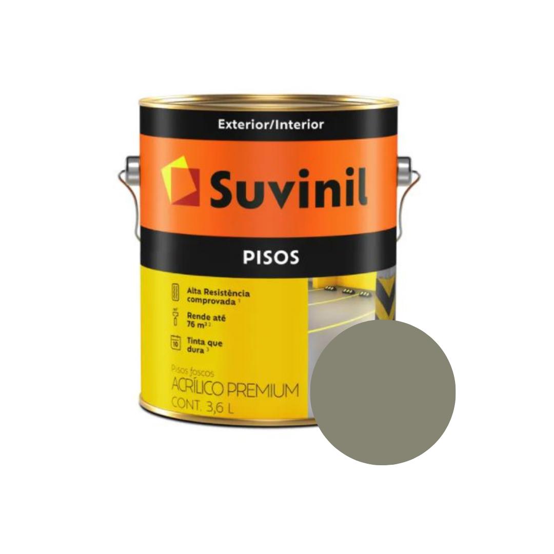 Tinta Suvinil Pisos Cor Concreto Puro Galão 3,6L