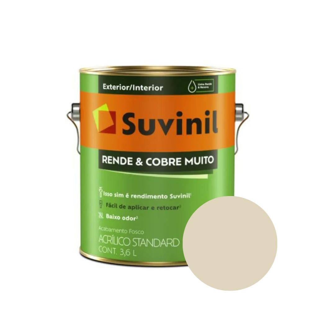Tinta Suvinil Rende & Cobre Muito Palha Galão 3,6L