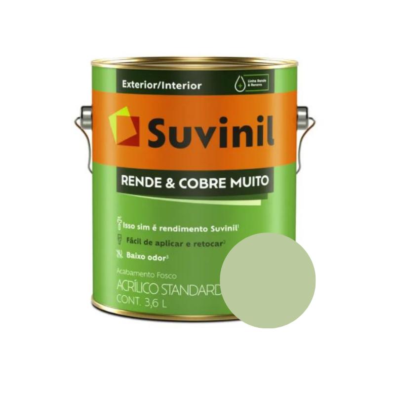 Tinta Suvinil Rende & Cobre Muito Uva Verde Galão 3,6L