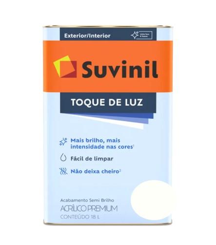 Tinta Suvinil Toque de Luz Acrílico Branco Latão 18L