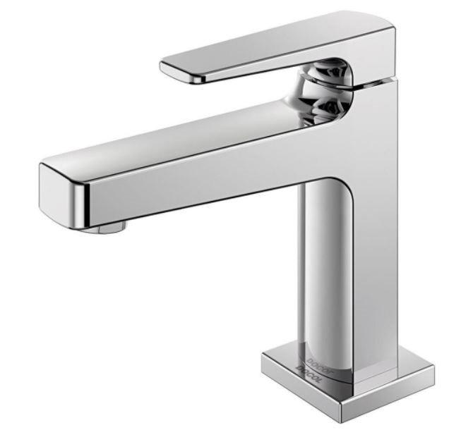 "Torneira De Mesa Para Banheiro Docol Lift 1/2"" - Cromada  - Casa Mattos"