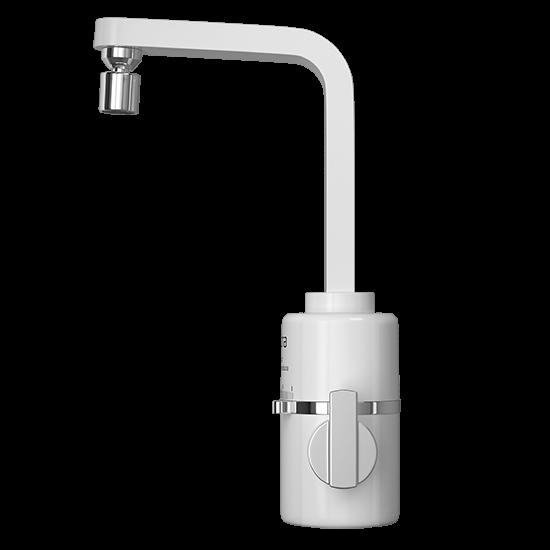 Torneira Hydra Slim TPSL.4.552BR 220V/5500W Multitemperatura 4T para Parede Branca