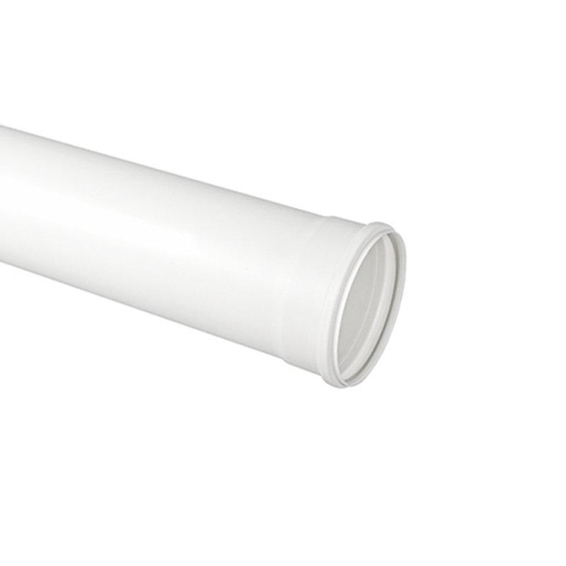 Tubo de PVC Esgoto Krona Série Normal 6 Metros Branco