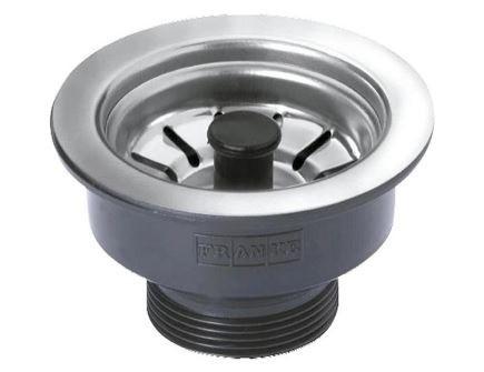 Válvula De Escoamento Com Pino Standard 3.1/2 - Preta
