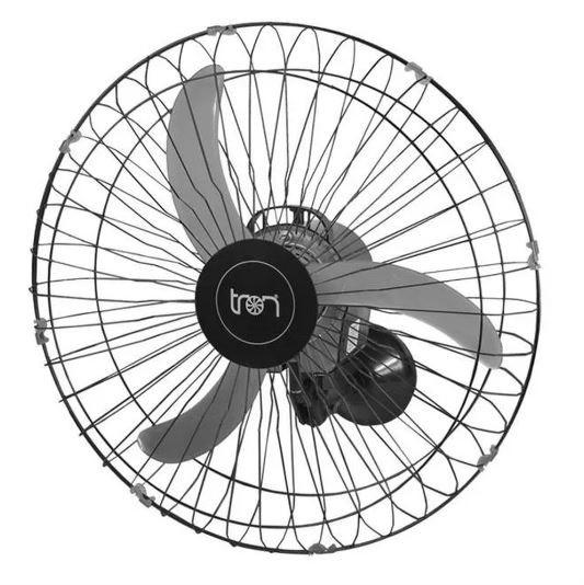 Ventilador De Parede Oscilante 60Cm 127V - Preto