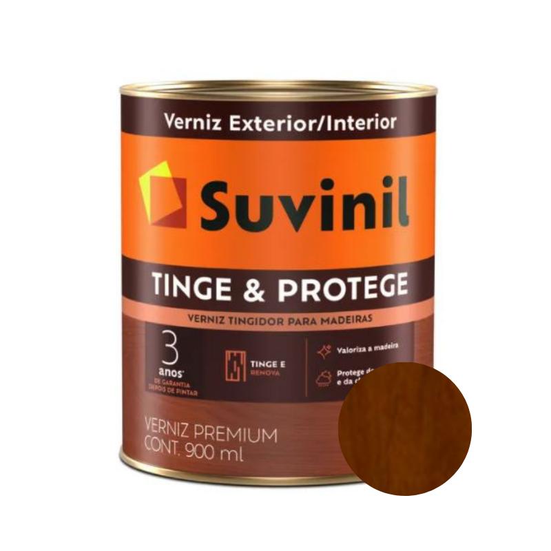 Verniz Suvinil Tinge & Protege Brilhante Imbuia 900ml