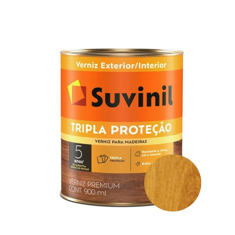Verniz Suvinil Tripla Proteção Brilhante Natural 900ml