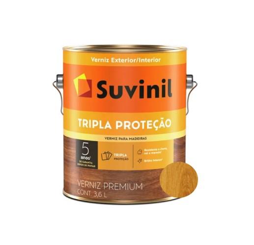 Verniz Suvinil Tripla Proteção para Madeira Fosco Incolor 3,6L  - Casa Mattos