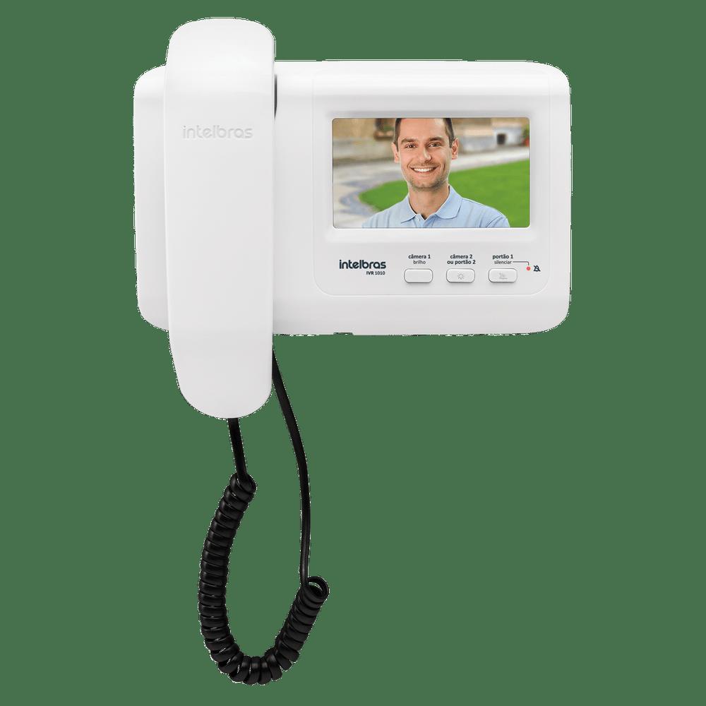 Vídeoporteiro Intelbras com Visão Noturna IVR 1010  - Casa Mattos