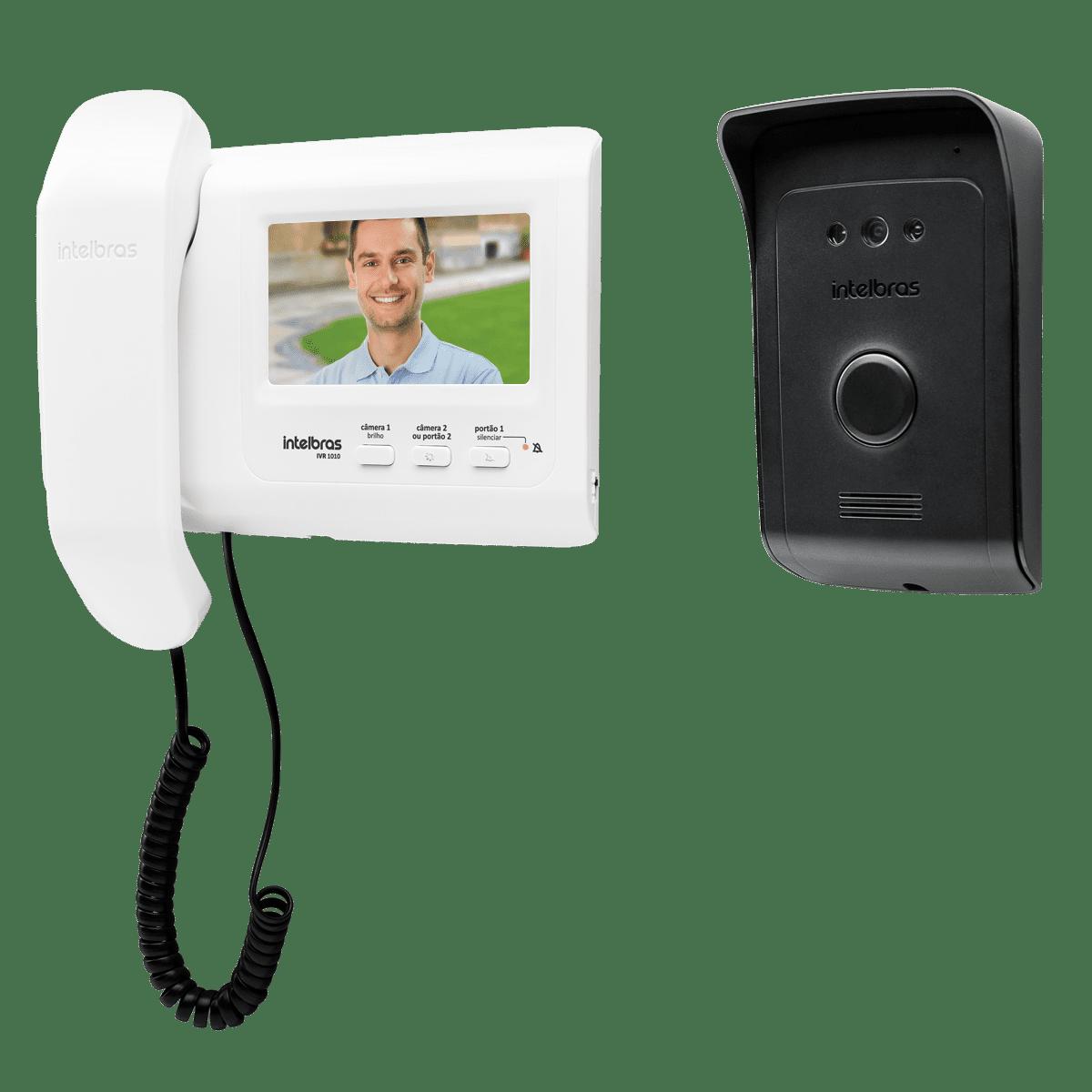 Vídeoporteiro Intelbras com Visão Noturna IVR 1010