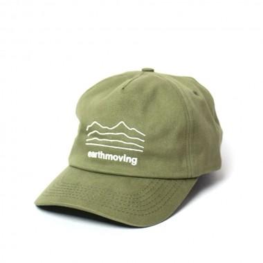 Boné KOMATSU Dad Hat Earthmoving - Green