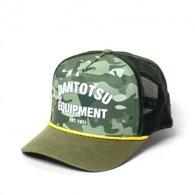 Boné Trucker KOMATSU Camouflage Green