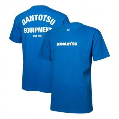 Camiseta Masc. KOMATSU Dantotsu - Azul