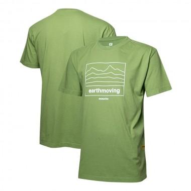 Camiseta Masc. KOMATSU Earthmoving - Verde
