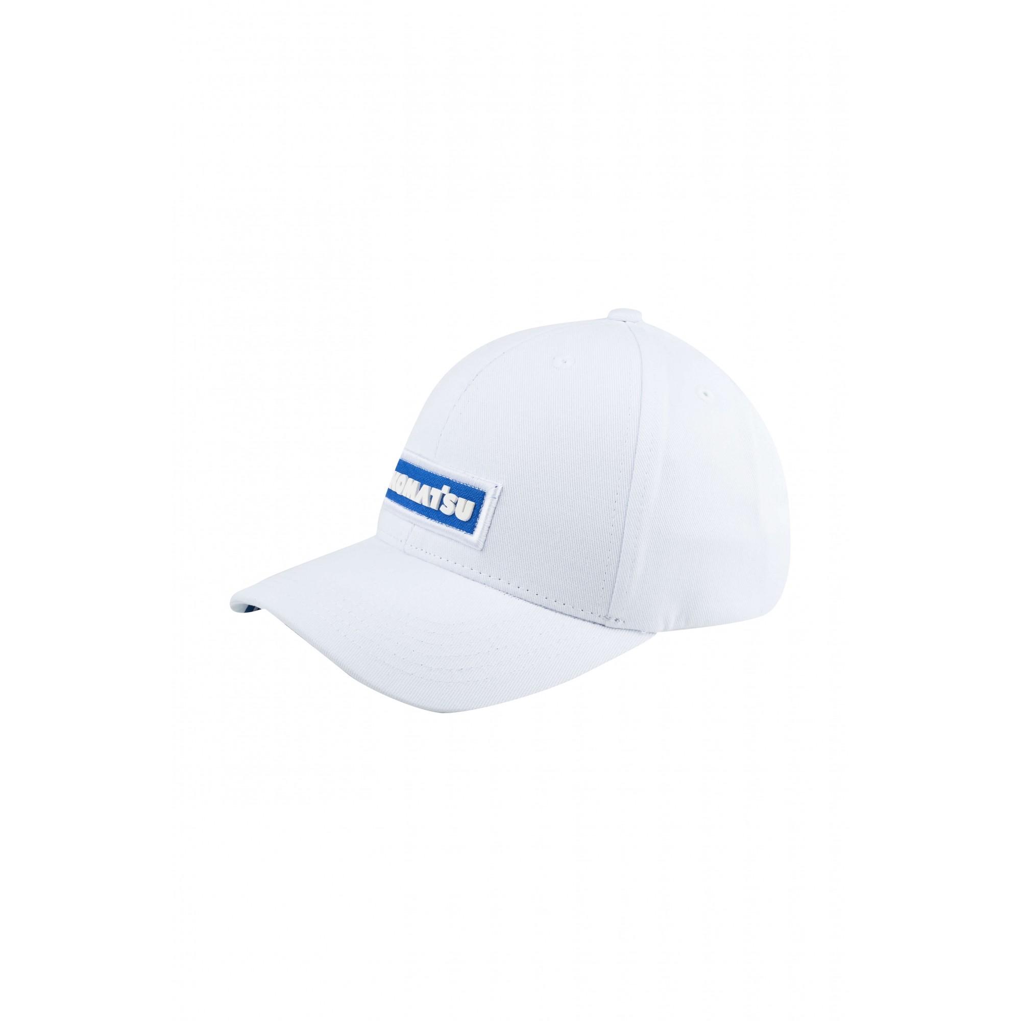 Boné KOMATSU Brand White