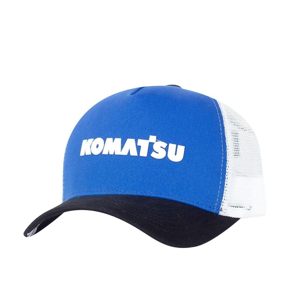 Boné KOMATSU Trucker Blue